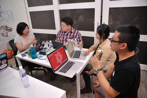 대만, 중국 커뮤니티 멤버
